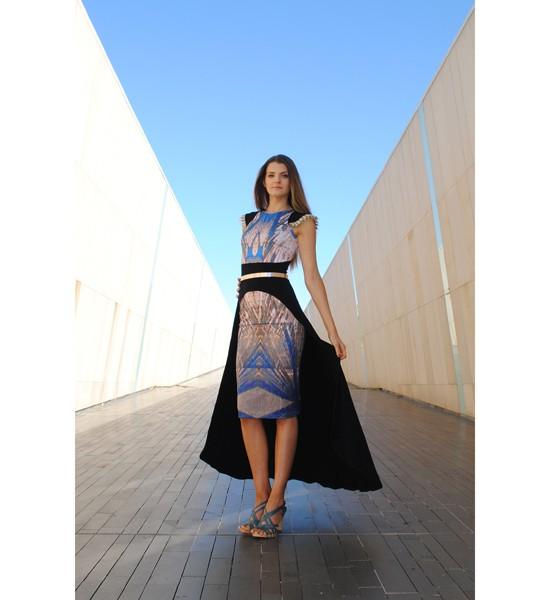 Zilpah tart fountain dress