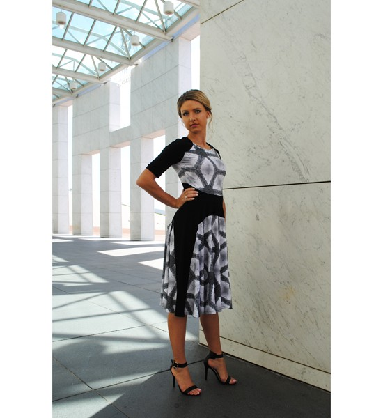 Zilpah tart Panel line dress