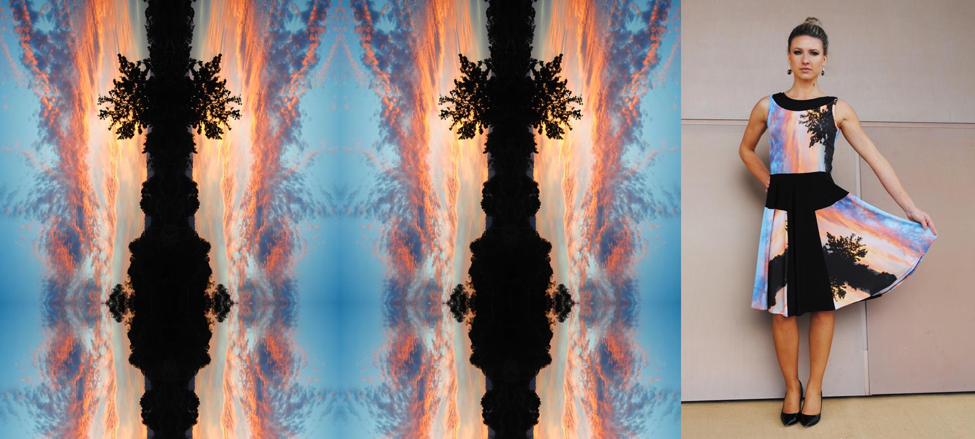 Zilpah tart Sunset print