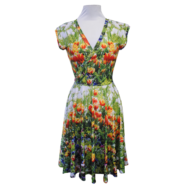 Zilpah tart cross front dress