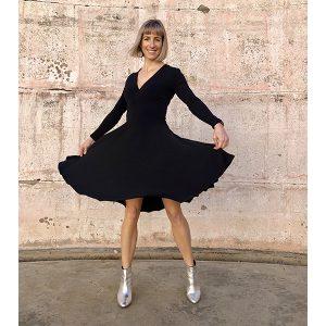 Zilpah tart black dress