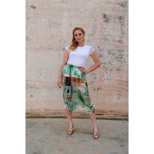 Zilpah tart Sea Foam Skirt