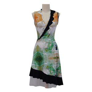 Zilpah tart Waves Dress
