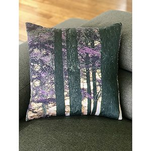 Purple Forest cushion