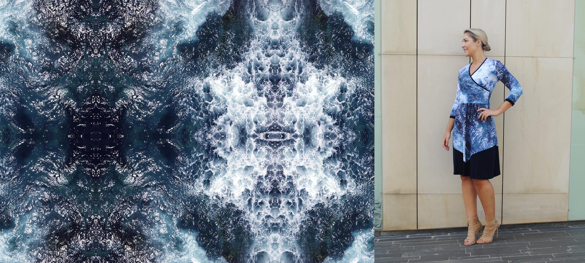Zilpah tart ocean print