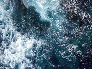 Ocean print original photo
