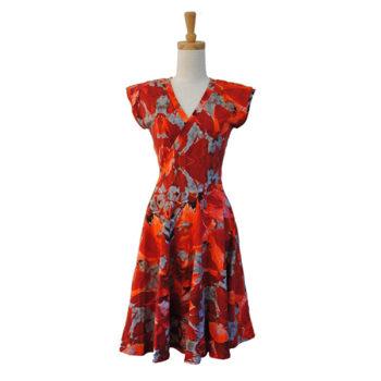 Bamboo Cross Front Dress