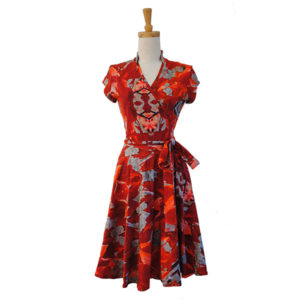 Bamboo Wrap Dress