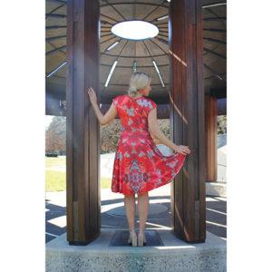 Cross Front Dress