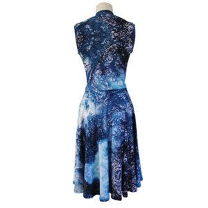 Zilpah ocean print dress