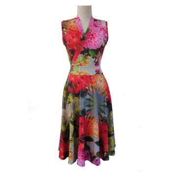 Wildflower print dress