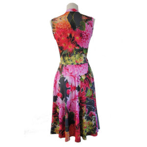 Wildflower print dress