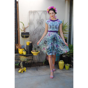 Cactus Flower Dress