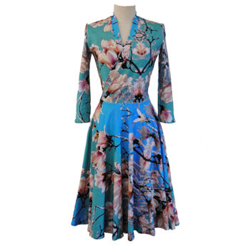 Jade floral dress