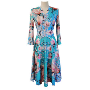 Magnolia Floral Dress
