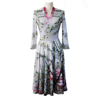Winter Blossom Dress