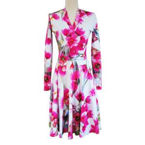 Bamboo winter dress