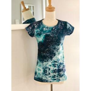 Ocean print T-shirt