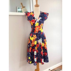 Poppy Cross Front Dress
