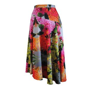 Wildflower Print Skirt